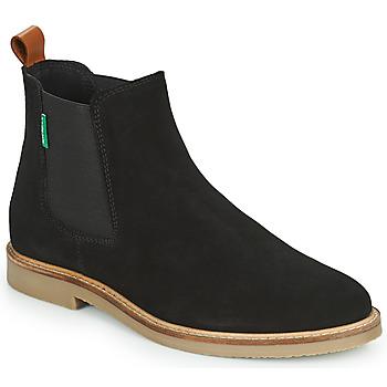 kengät Naiset Bootsit Kickers TYGA Musta