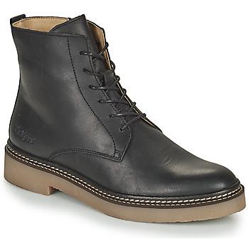 kengät Naiset Bootsit Kickers OXIGENO Musta