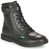 kengät Naiset Bootsit Kickers KICK TREND Musta