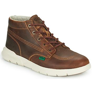 kengät Miehet Bootsit Kickers KICKI HI 3 Ruskea