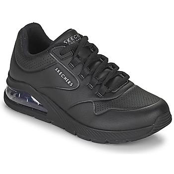 kengät Naiset Matalavartiset tennarit Skechers UNO 2 Musta