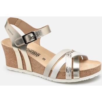 kengät Naiset Sandaalit ja avokkaat Mephisto MEPHLANNYgold marrone