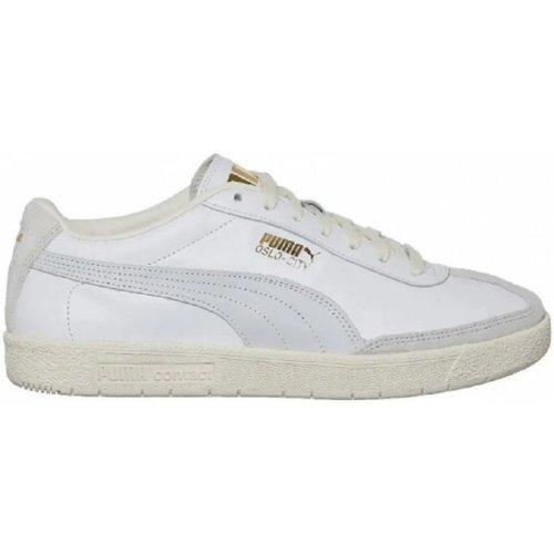kengät Naiset Matalavartiset tennarit Puma Oslo-City Woven 374549 01 Valkoinen