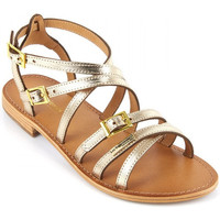kengät Naiset Sandaalit ja avokkaat Les Tropéziennes par M Belarbi Boucle Kulta