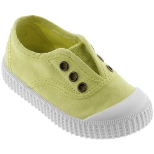 kengät Lapset Matalavartiset tennarit Victoria 106627 Keltainen