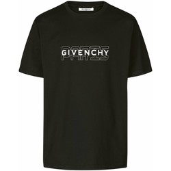 vaatteet Miehet Lyhythihainen t-paita Givenchy BM70SS3002 Musta