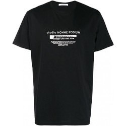 vaatteet Miehet Lyhythihainen t-paita Givenchy BM70SC3002 Musta