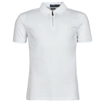 vaatteet Miehet Lyhythihainen poolopaita Polo Ralph Lauren BATTYNA Valkoinen