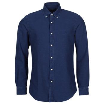 vaatteet Miehet Pitkähihainen paitapusero Polo Ralph Lauren TRENNYB Sininen