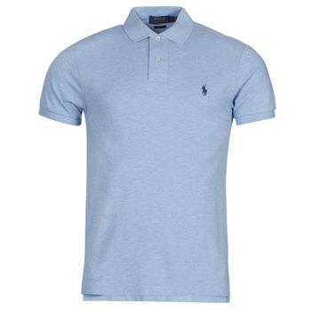 vaatteet Miehet Lyhythihainen poolopaita Polo Ralph Lauren DOLINAR Sininen