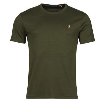 vaatteet Miehet Lyhythihainen t-paita Polo Ralph Lauren TEKAMO Khaki