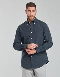 vaatteet Miehet Pitkähihainen paitapusero Polo Ralph Lauren RENIMA Vihreä / Sininen