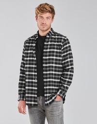 vaatteet Miehet Pitkähihainen paitapusero Polo Ralph Lauren PERINE Musta