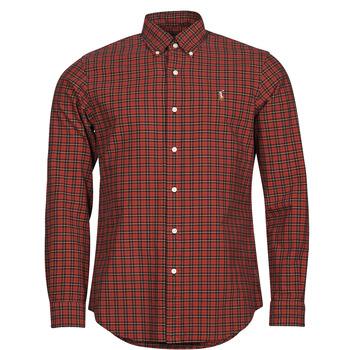 vaatteet Miehet Pitkähihainen paitapusero Polo Ralph Lauren TALIKA Punainen / Monivärinen