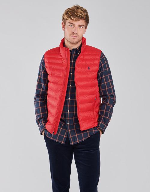 vaatteet Miehet Toppatakki Polo Ralph Lauren PEROLINA Punainen