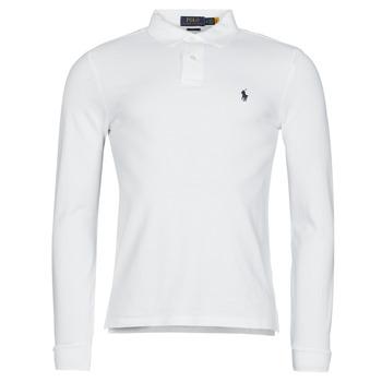 vaatteet Miehet Pitkähihainen poolopaita Polo Ralph Lauren TREKINA Valkoinen