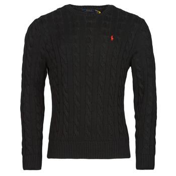 vaatteet Miehet Neulepusero Polo Ralph Lauren SERINA Musta