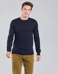vaatteet Miehet Neulepusero Polo Ralph Lauren AMIRAL Sininen