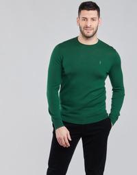 vaatteet Miehet Neulepusero Polo Ralph Lauren AMIRAL Vihreä