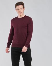 vaatteet Miehet Neulepusero Polo Ralph Lauren AMIRAL Viininpunainen