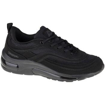 kengät Miehet Derby-kengät & Herrainkengät Kappa Squince Mustat