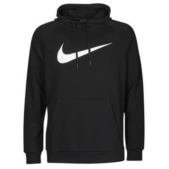 vaatteet Miehet Svetari Nike NIKE DRI-FIT Musta