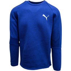 vaatteet Miehet Ulkoilutakki Puma Evostripe Crew Sininen