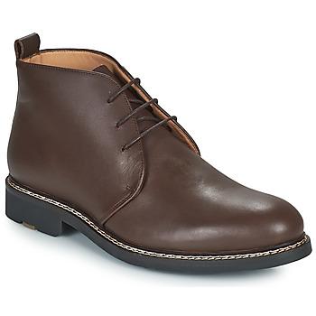 kengät Miehet Derby-kengät Pellet MIRAGE Ruskea