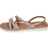 kengät Naiset Sandaalit ja avokkaat Femme Plus BJ888 Beige