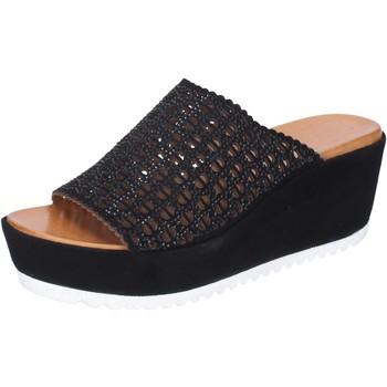 kengät Naiset Sandaalit Femme Plus BJ890 Musta