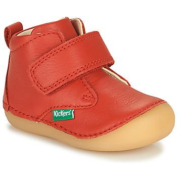 kengät Lapset Bootsit Kickers SABIO Punainen
