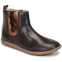 kengät Tytöt Bootsit Kickers VETUDI Ruskea