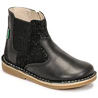 kengät Tytöt Bootsit Kickers MAELIO Musta