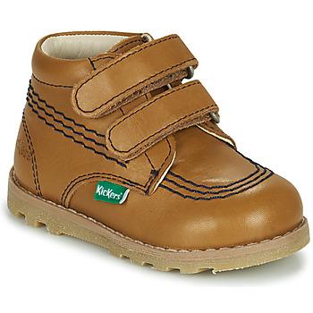 kengät Lapset Bootsit Kickers NONOMATIC Kamelinruskea