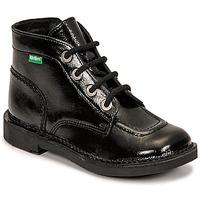 kengät Tytöt Bootsit Kickers KICK COLZ Musta