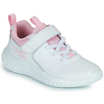 kengät Tytöt Matalavartiset tennarit Reebok Sport RUSH RUNNER Valkoinen / Vaaleanpunainen