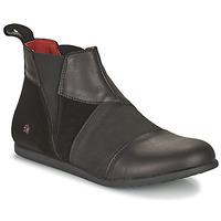 kengät Naiset Bootsit Art LARISSA Musta