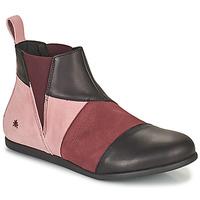 kengät Naiset Bootsit Art LARISSA Violetti / Musta