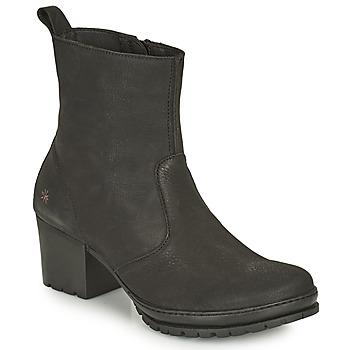 kengät Naiset Nilkkurit Art CAMDEN Musta
