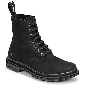 kengät Bootsit Art BIRMINGHAM Musta