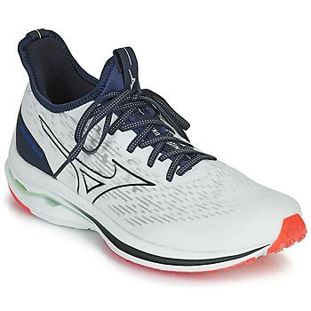 kengät Miehet Juoksukengät / Trail-kengät Mizuno WAVE RIDER NEO Valkoinen / Sininen