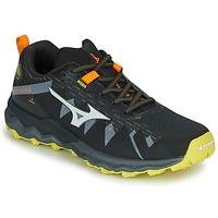 kengät Miehet Juoksukengät / Trail-kengät Mizuno WAVE DAICHI 4 Musta / Oranssi