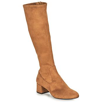 kengät Naiset Saappaat Unisa LARTI Kamelinruskea