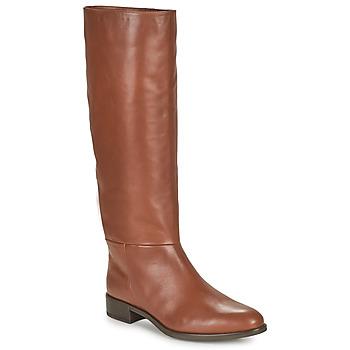kengät Naiset Saappaat Unisa BLEND Kamelinruskea