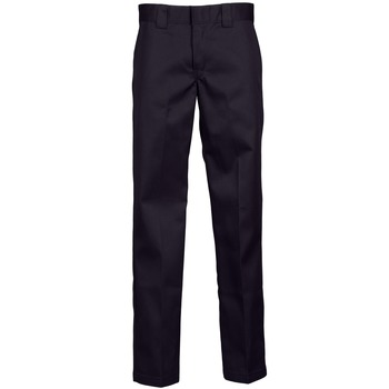 vaatteet Miehet 5-taskuiset housut Dickies WORK PANT Black