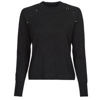 vaatteet Naiset Neulepusero Chattawak CATHY Musta