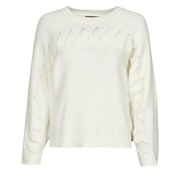 vaatteet Naiset Neulepusero Chattawak SWEETY Valkoinen