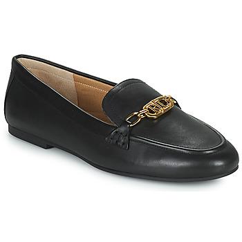 kengät Naiset Mokkasiinit Lauren Ralph Lauren AVERI Musta