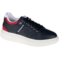 kengät Miehet Matalavartiset tennarit Geographical Norway Shoes Bleu marine