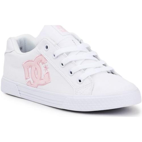 kengät Naiset Matalavartiset tennarit DC Shoes DC Chelsea ADJS300243-WPW white